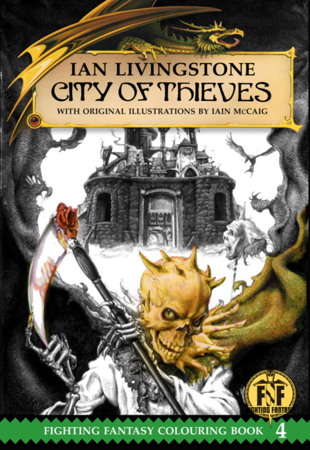 City of Thieves Colouring Book