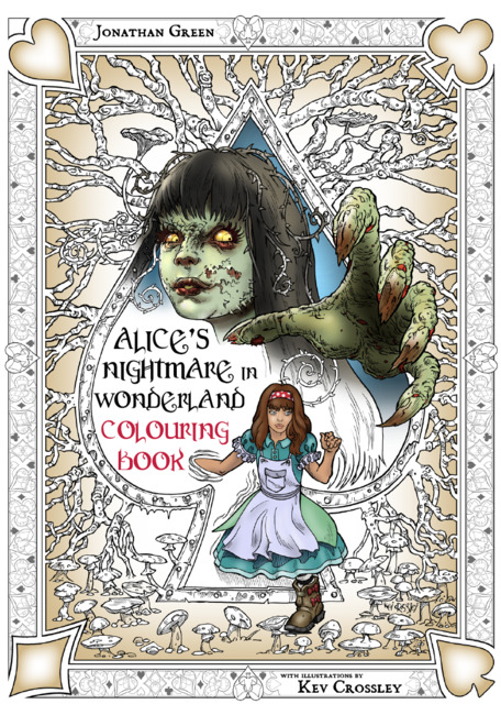 Alice's Nightmare in Wonderland Colouring Book 2