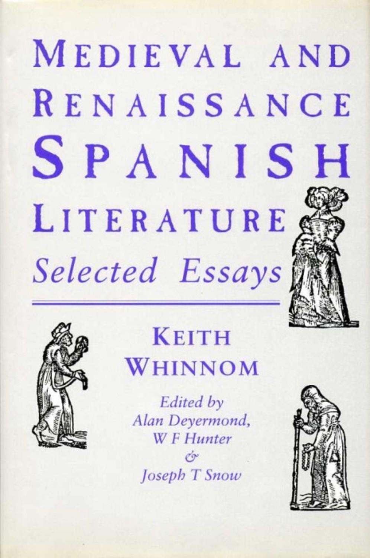Medieval and Renaissance Spanish Literature
