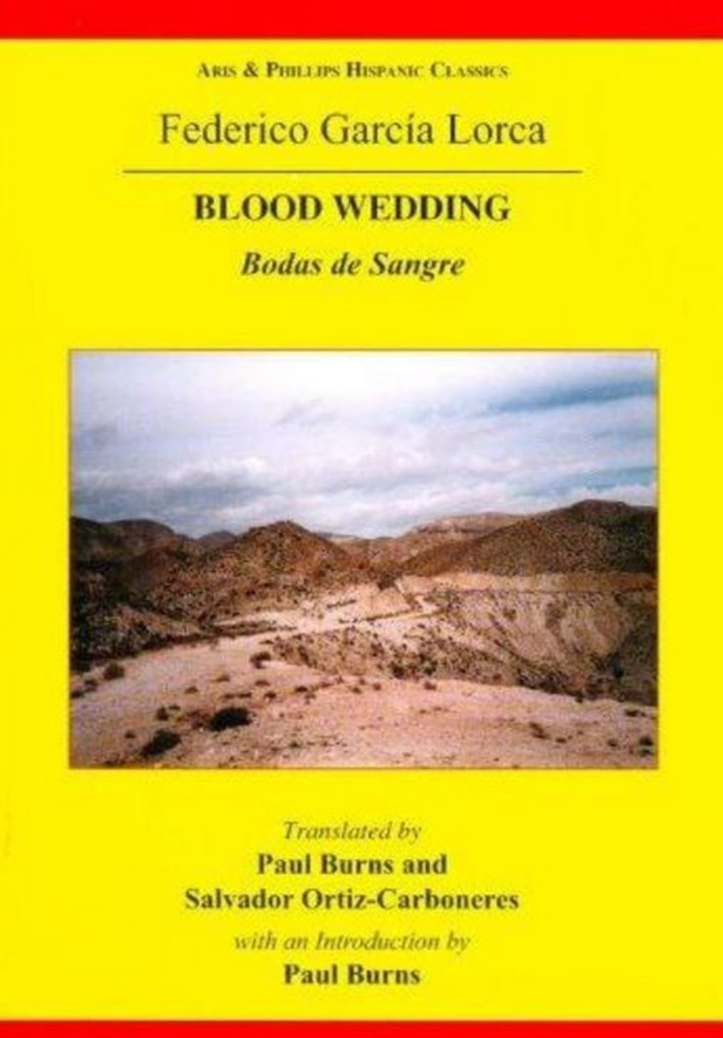 Lorca: Blood Wedding