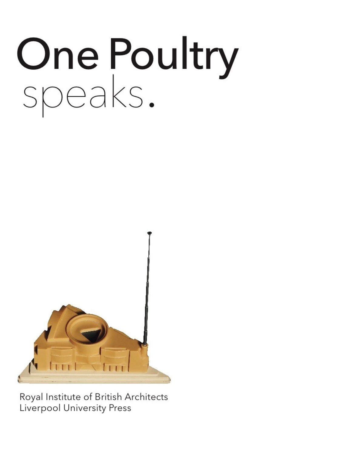 One Poultry Speaks