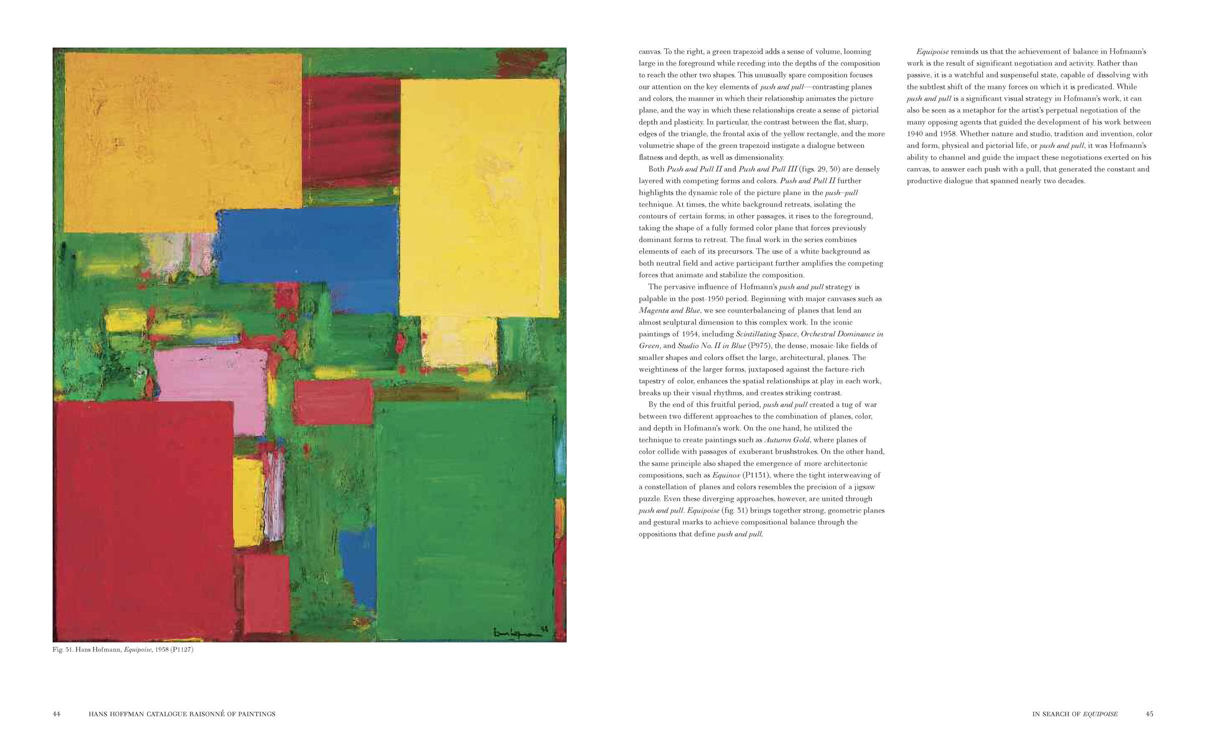Hans Hofmann Catalogue Raisonn/é of Paintings