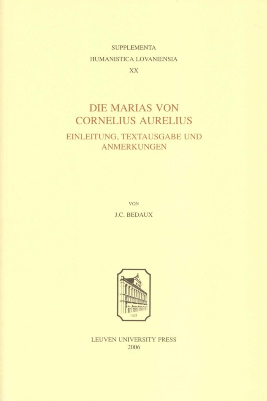 Die Marias von Cornelius Aurelius