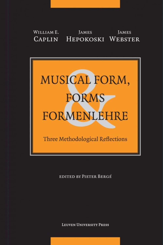 Musical Form, Forms & Formenlehre - paperback