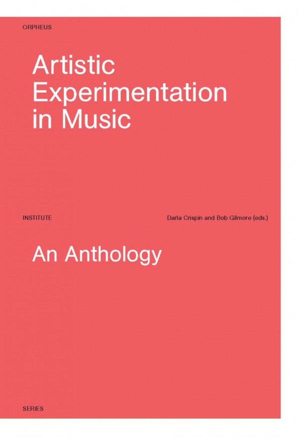 Artistic Experimentation in Music