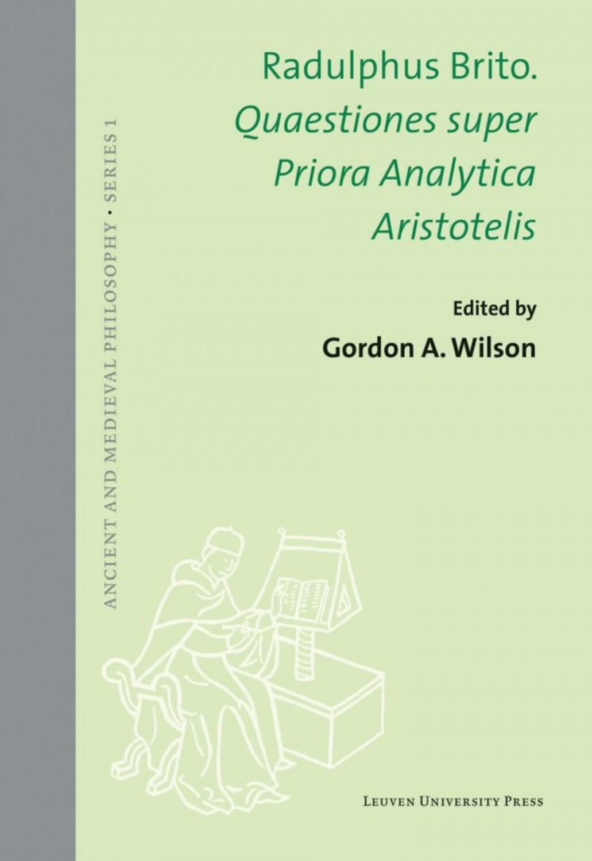 Quaestiones super Priora Analytica Aristotelis