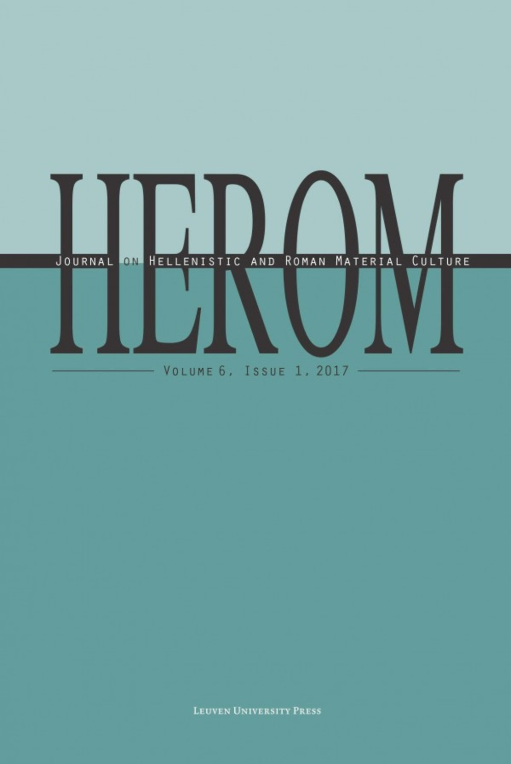 HEROM Volume 6 Issue 1, 2017 (Journal Subscription)