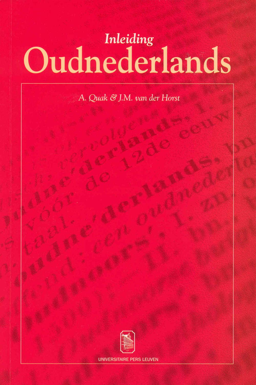 Inleiding Oudnederlands