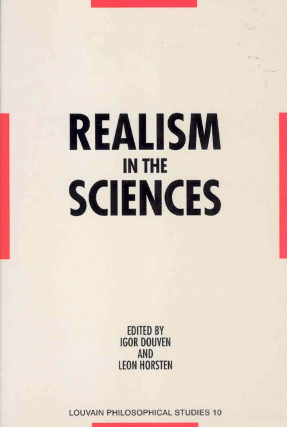 Realism in the Sciences