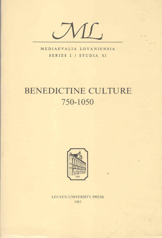 Benedictine Culture 750-1050