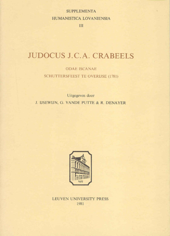 Judocus J.C.A. Crabeels
