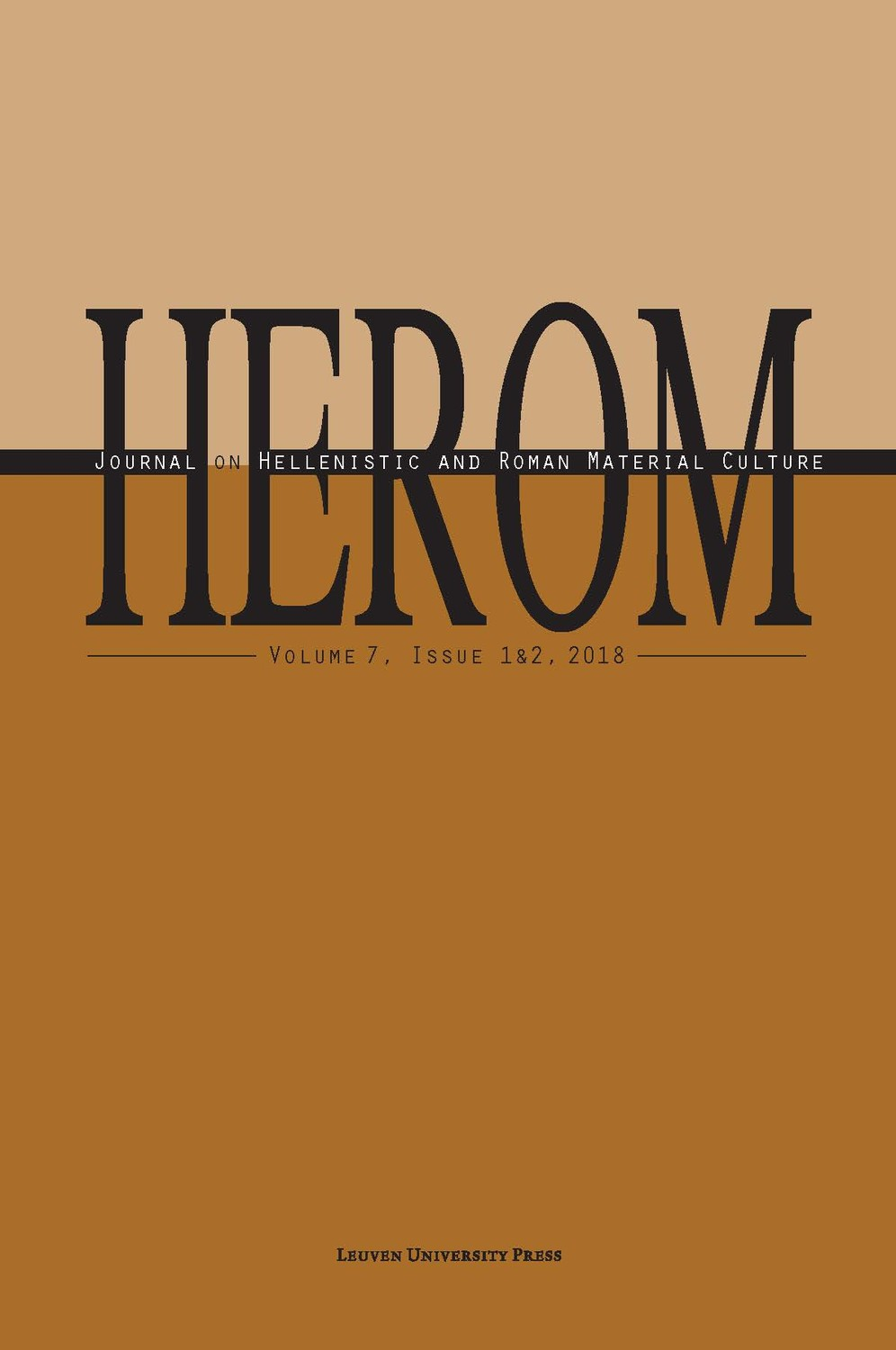 HEROM Volume 7 Issue 1 & 2, 2018 (Journal Subscription)