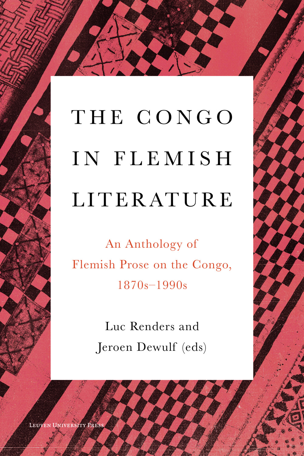 The Congo in Flemish Literature