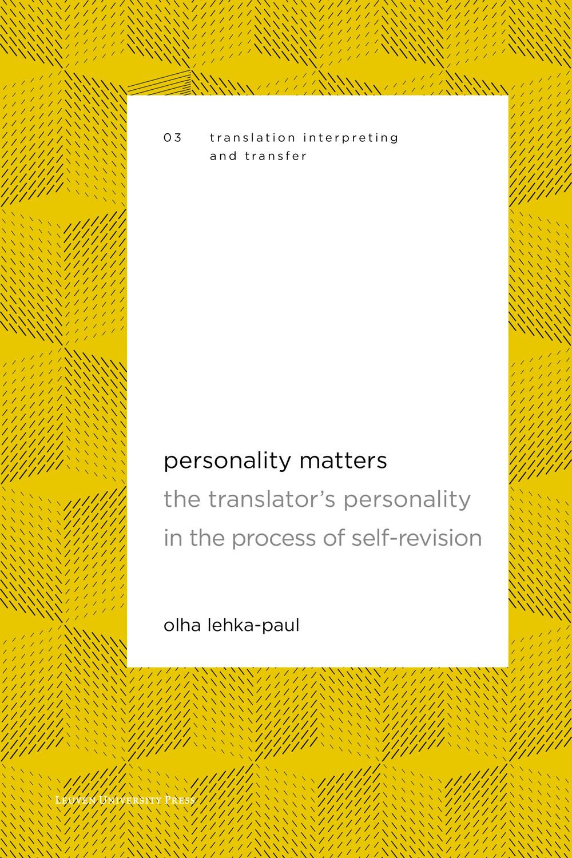 Personality Matters