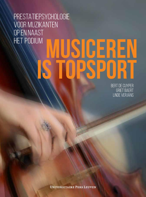 Musiceren is topsport